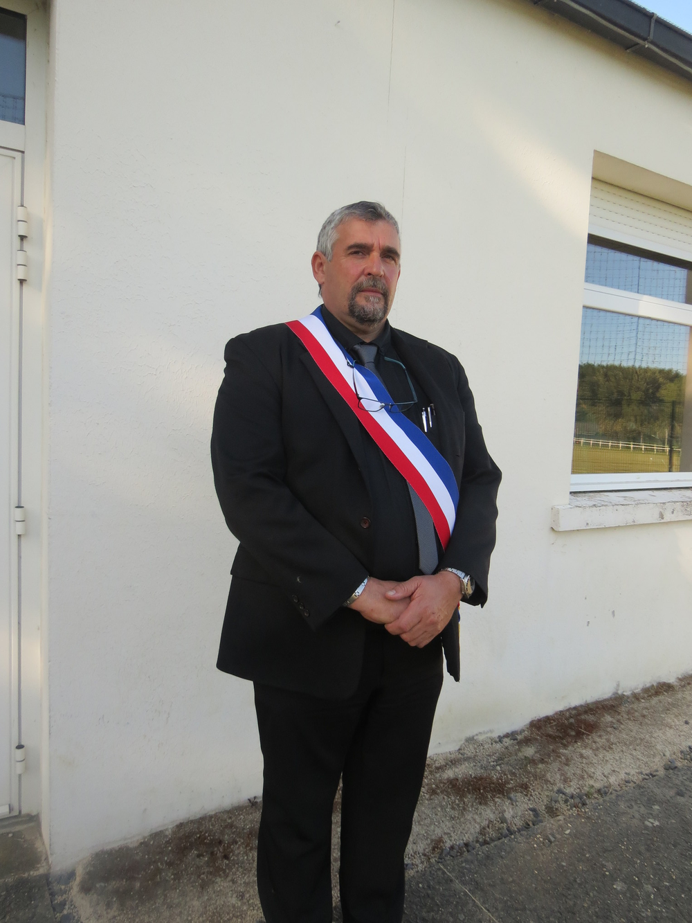 le maire -yves ruffet
